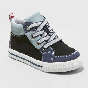 NWT boys Cat & Jack high top sneakers